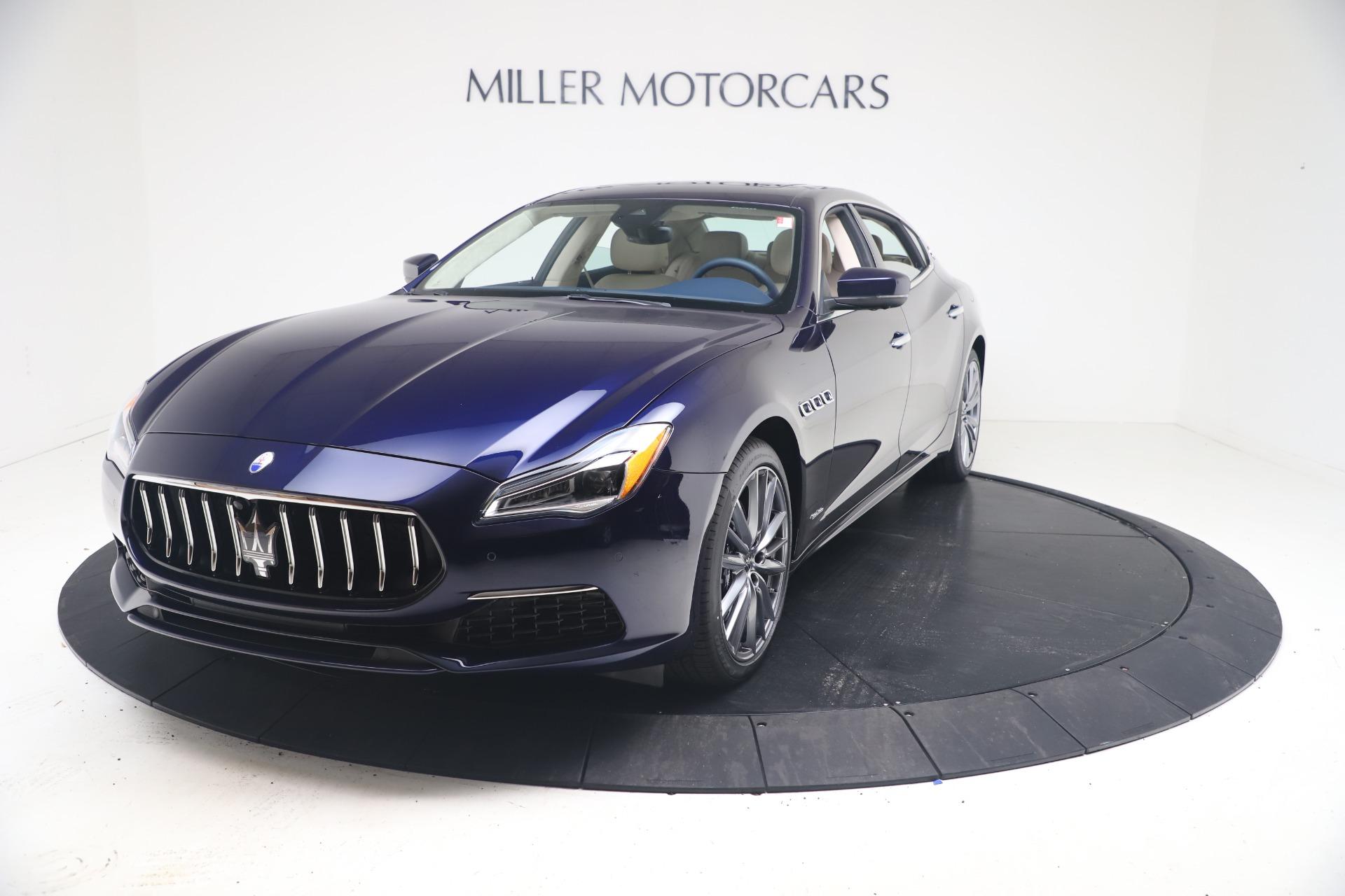 New 2021 Maserati Quattroporte S Q4 GranLusso for sale $126,149 at Maserati of Westport in Westport CT 06880 1