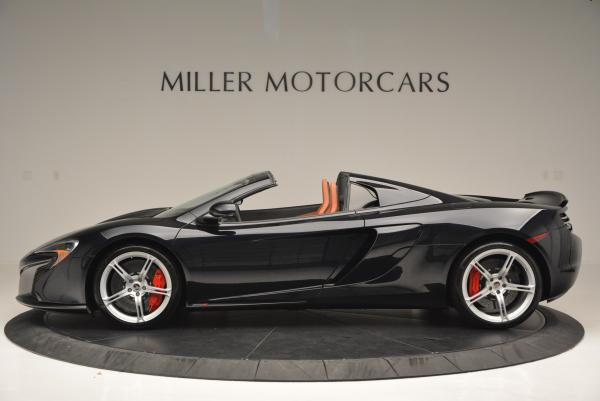 Used 2015 McLaren 650S Spider for sale Sold at Maserati of Westport in Westport CT 06880 3