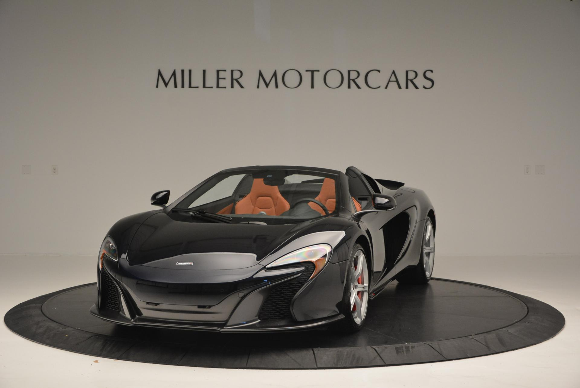 Used 2015 McLaren 650S Spider for sale Sold at Maserati of Westport in Westport CT 06880 1