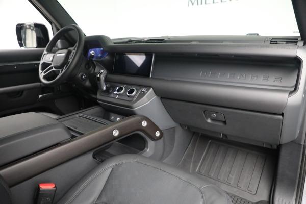 Used 2021 Land Rover Defender 90 X for sale $84,900 at Maserati of Westport in Westport CT 06880 13