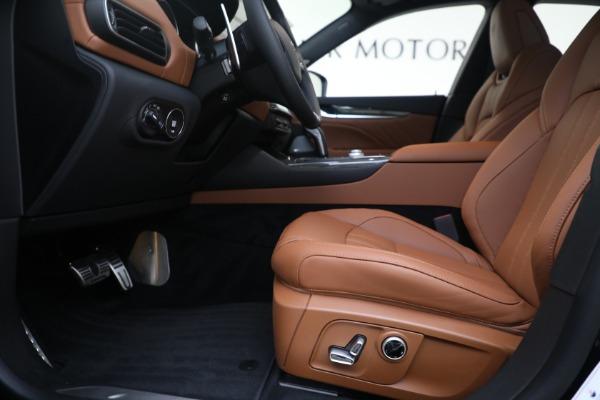New 2021 Maserati Levante S GranSport for sale $112,799 at Maserati of Westport in Westport CT 06880 14