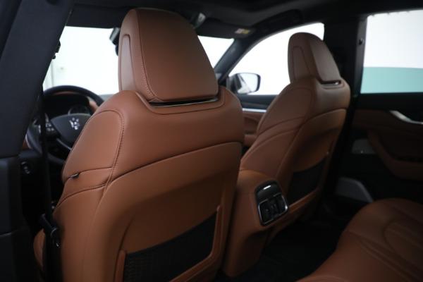 New 2021 Maserati Levante S GranSport for sale $112,799 at Maserati of Westport in Westport CT 06880 20