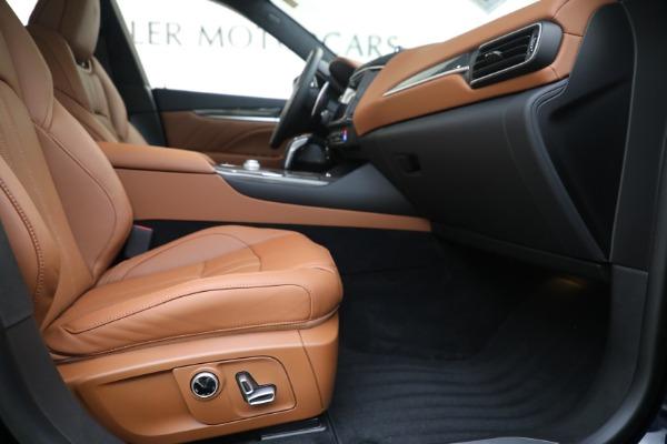 New 2021 Maserati Levante S GranSport for sale $112,799 at Maserati of Westport in Westport CT 06880 22