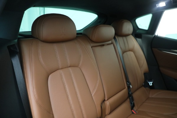 New 2021 Maserati Levante S GranSport for sale $112,799 at Maserati of Westport in Westport CT 06880 24