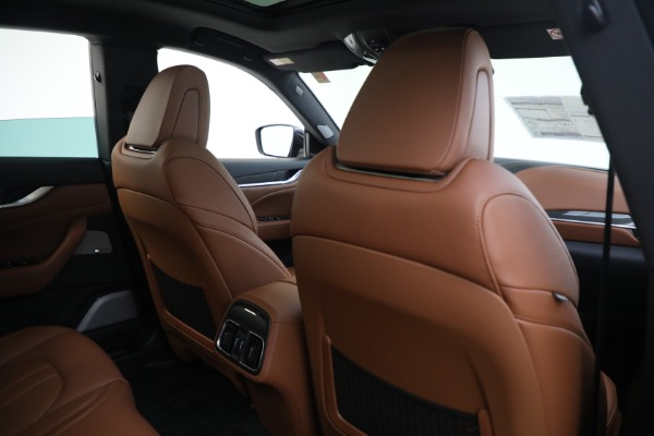 New 2021 Maserati Levante S GranSport for sale $112,799 at Maserati of Westport in Westport CT 06880 26
