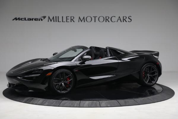 New 2021 McLaren 720S Spider for sale $374,120 at Maserati of Westport in Westport CT 06880 2