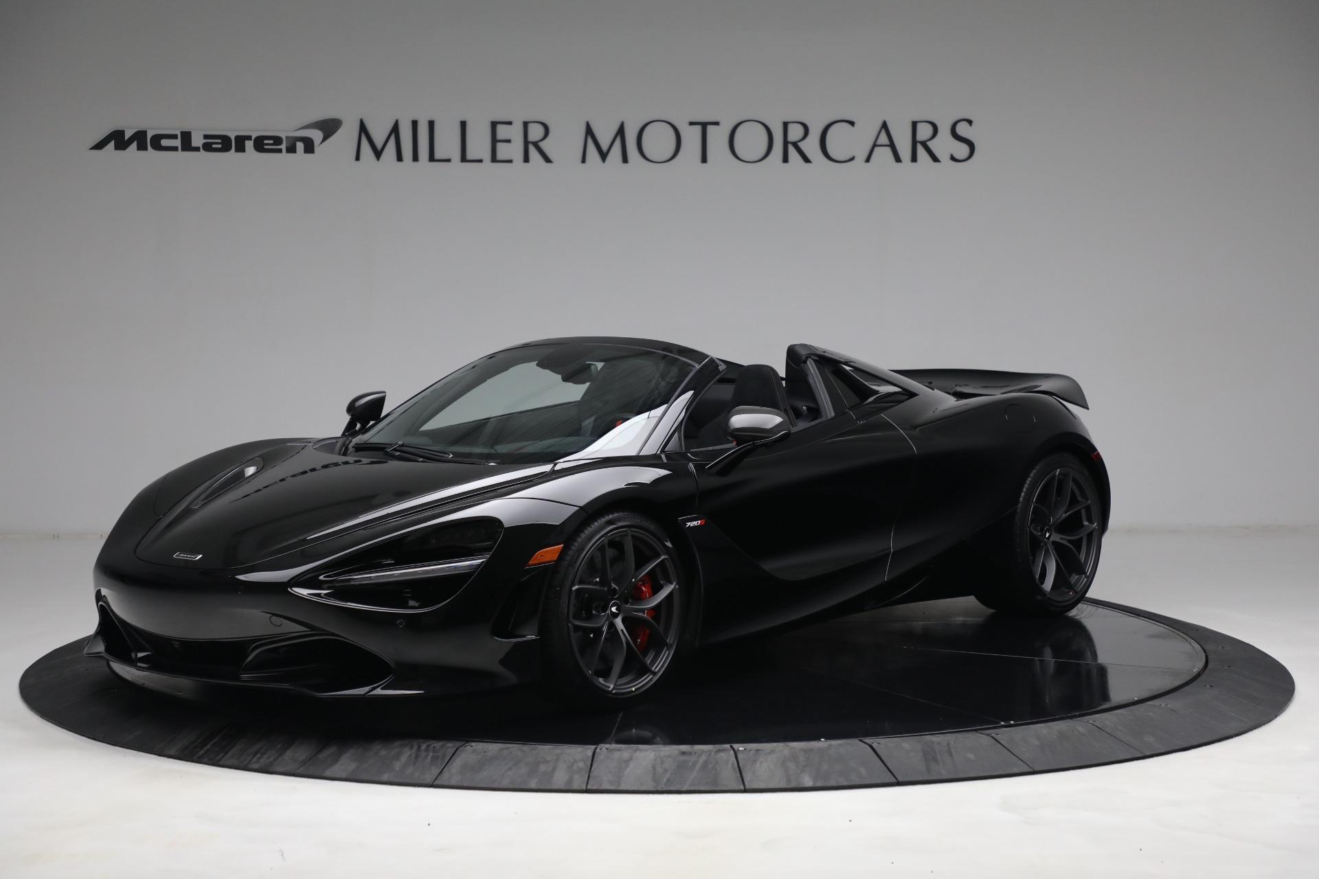 New 2021 McLaren 720S Spider for sale $374,120 at Maserati of Westport in Westport CT 06880 1