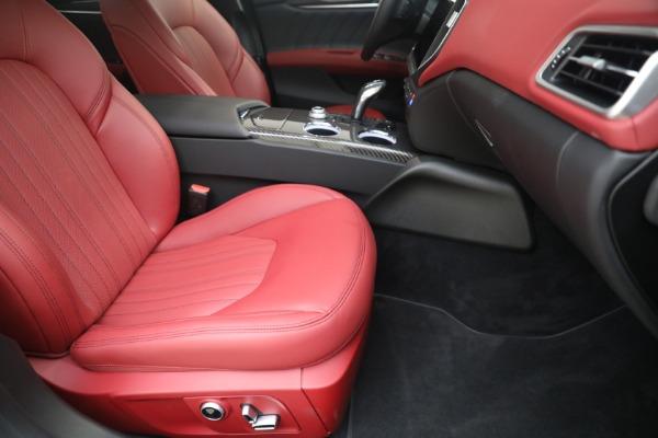 New 2021 Maserati Ghibli SQ4 GranLusso for sale Call for price at Maserati of Westport in Westport CT 06880 23