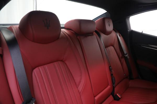 New 2021 Maserati Ghibli SQ4 GranLusso for sale Call for price at Maserati of Westport in Westport CT 06880 24
