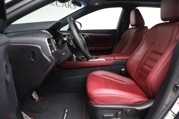 Used 2018 Lexus RX 350 F SPORT for sale $46,500 at Maserati of Westport in Westport CT 06880 14