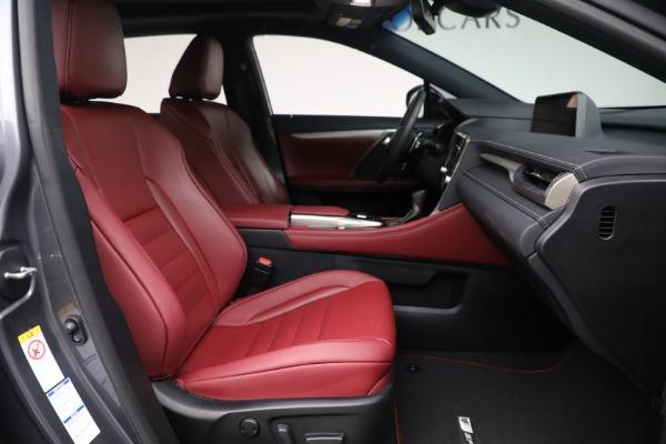 Used 2018 Lexus RX 350 F SPORT for sale $46,500 at Maserati of Westport in Westport CT 06880 19