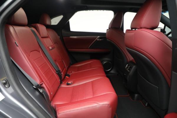 Used 2018 Lexus RX 350 F SPORT for sale $46,500 at Maserati of Westport in Westport CT 06880 22