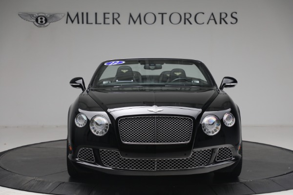 Used 2012 Bentley Continental GTC GT for sale $119,900 at Maserati of Westport in Westport CT 06880 11