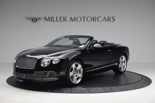 Used 2012 Bentley Continental GTC GT for sale $119,900 at Maserati of Westport in Westport CT 06880 1