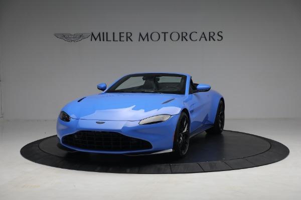New 2021 Aston Martin Vantage Roadster for sale $186,386 at Maserati of Westport in Westport CT 06880 11