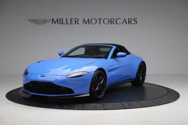 New 2021 Aston Martin Vantage Roadster for sale $186,386 at Maserati of Westport in Westport CT 06880 12