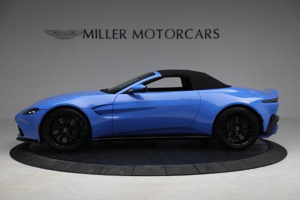 New 2021 Aston Martin Vantage Roadster for sale $186,386 at Maserati of Westport in Westport CT 06880 13