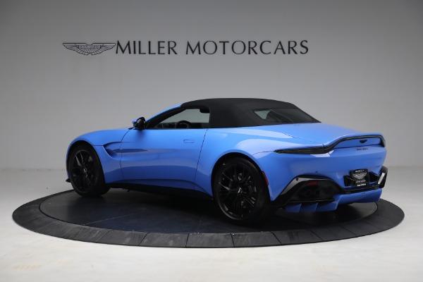 New 2021 Aston Martin Vantage Roadster for sale $186,386 at Maserati of Westport in Westport CT 06880 14