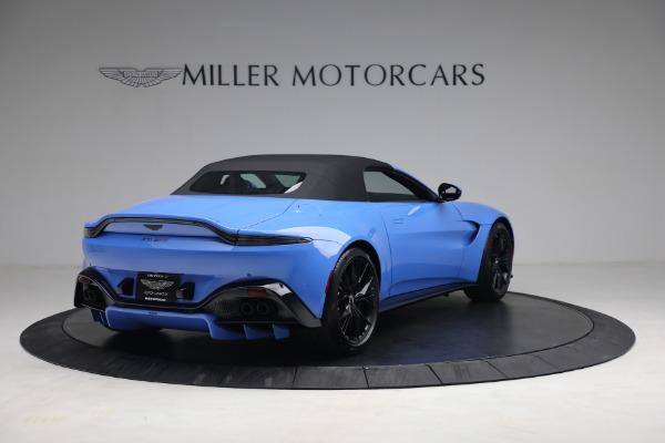 New 2021 Aston Martin Vantage Roadster for sale $186,386 at Maserati of Westport in Westport CT 06880 15