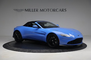 New 2021 Aston Martin Vantage Roadster for sale $186,386 at Maserati of Westport in Westport CT 06880 17