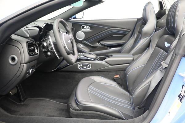 New 2021 Aston Martin Vantage Roadster for sale $186,386 at Maserati of Westport in Westport CT 06880 18