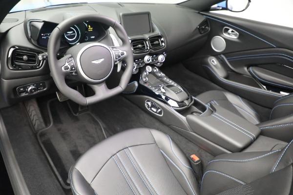 New 2021 Aston Martin Vantage Roadster for sale $186,386 at Maserati of Westport in Westport CT 06880 19