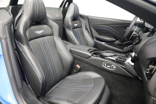 New 2021 Aston Martin Vantage Roadster for sale $186,386 at Maserati of Westport in Westport CT 06880 22