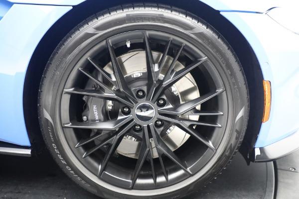 New 2021 Aston Martin Vantage Roadster for sale $186,386 at Maserati of Westport in Westport CT 06880 24