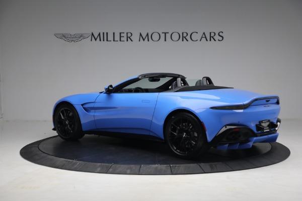 New 2021 Aston Martin Vantage Roadster for sale $186,386 at Maserati of Westport in Westport CT 06880 3