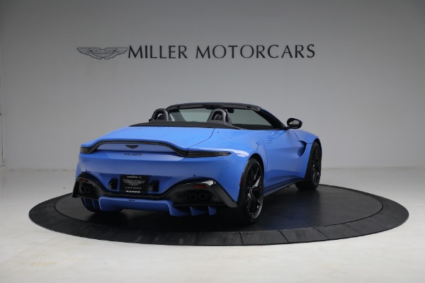 New 2021 Aston Martin Vantage Roadster for sale $186,386 at Maserati of Westport in Westport CT 06880 5