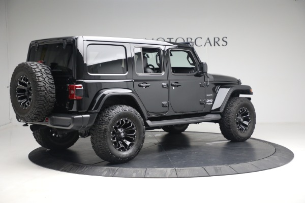 Used 2020 Jeep Wrangler Unlimited Sahara for sale Call for price at Maserati of Westport in Westport CT 06880 10