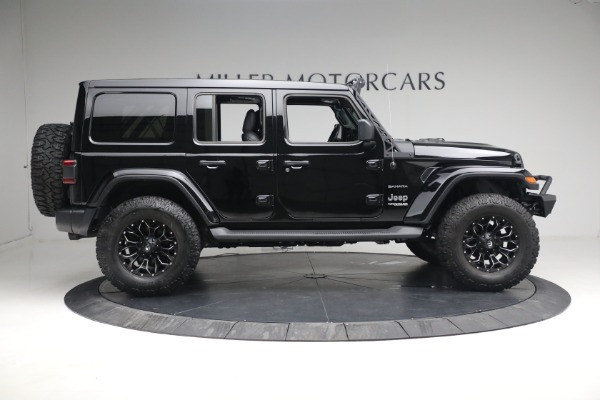 Used 2020 Jeep Wrangler Unlimited Sahara for sale Call for price at Maserati of Westport in Westport CT 06880 11