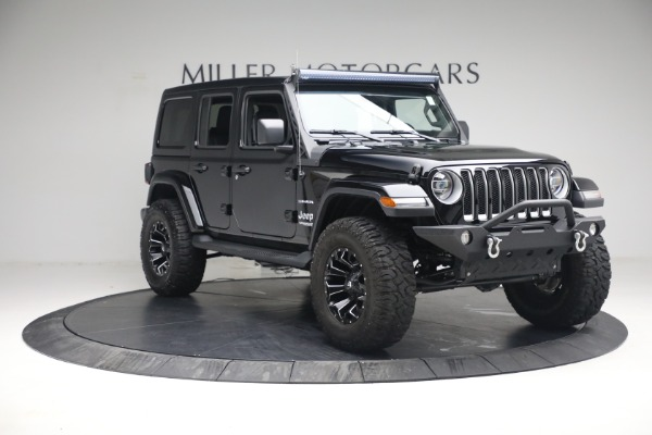 Used 2020 Jeep Wrangler Unlimited Sahara for sale Call for price at Maserati of Westport in Westport CT 06880 13
