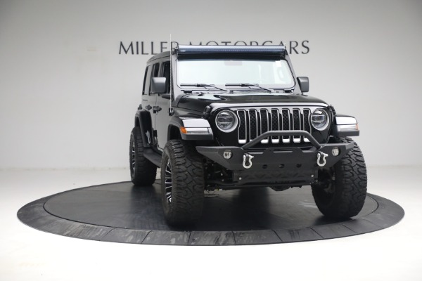 Used 2020 Jeep Wrangler Unlimited Sahara for sale Call for price at Maserati of Westport in Westport CT 06880 14