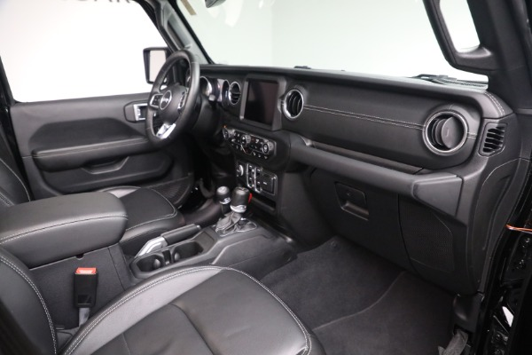 Used 2020 Jeep Wrangler Unlimited Sahara for sale Call for price at Maserati of Westport in Westport CT 06880 20