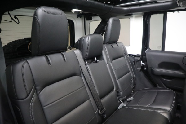 Used 2020 Jeep Wrangler Unlimited Sahara for sale Call for price at Maserati of Westport in Westport CT 06880 24