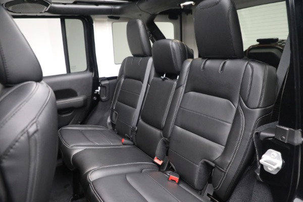 Used 2020 Jeep Wrangler Unlimited Sahara for sale Call for price at Maserati of Westport in Westport CT 06880 25