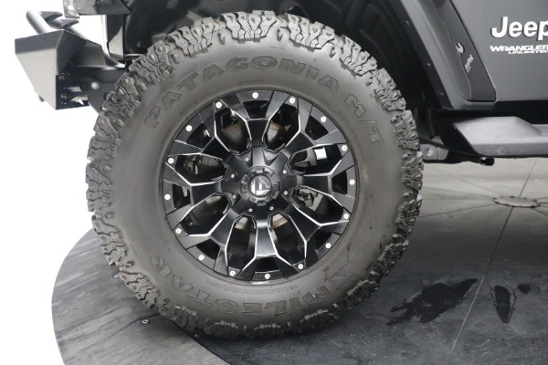 Used 2020 Jeep Wrangler Unlimited Sahara for sale Call for price at Maserati of Westport in Westport CT 06880 26