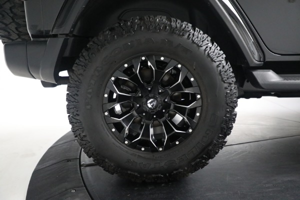 Used 2020 Jeep Wrangler Unlimited Sahara for sale Call for price at Maserati of Westport in Westport CT 06880 27