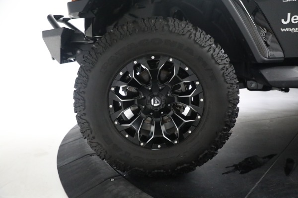 Used 2020 Jeep Wrangler Unlimited Sahara for sale Call for price at Maserati of Westport in Westport CT 06880 28