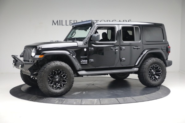 Used 2020 Jeep Wrangler Unlimited Sahara for sale Call for price at Maserati of Westport in Westport CT 06880 3
