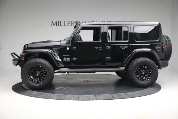 Used 2020 Jeep Wrangler Unlimited Sahara for sale Call for price at Maserati of Westport in Westport CT 06880 4