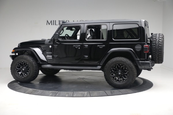 Used 2020 Jeep Wrangler Unlimited Sahara for sale Call for price at Maserati of Westport in Westport CT 06880 5