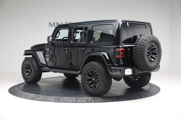 Used 2020 Jeep Wrangler Unlimited Sahara for sale Call for price at Maserati of Westport in Westport CT 06880 6