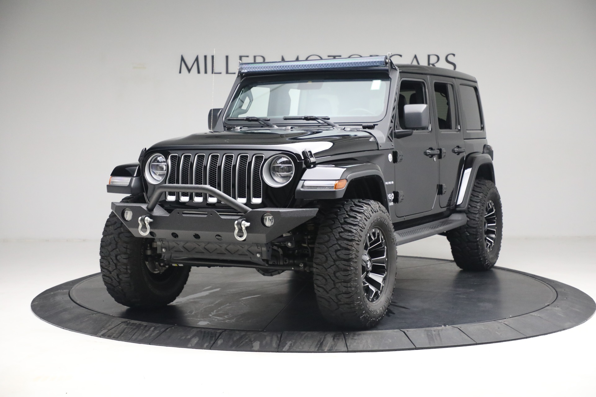 Used 2020 Jeep Wrangler Unlimited Sahara for sale Call for price at Maserati of Westport in Westport CT 06880 1