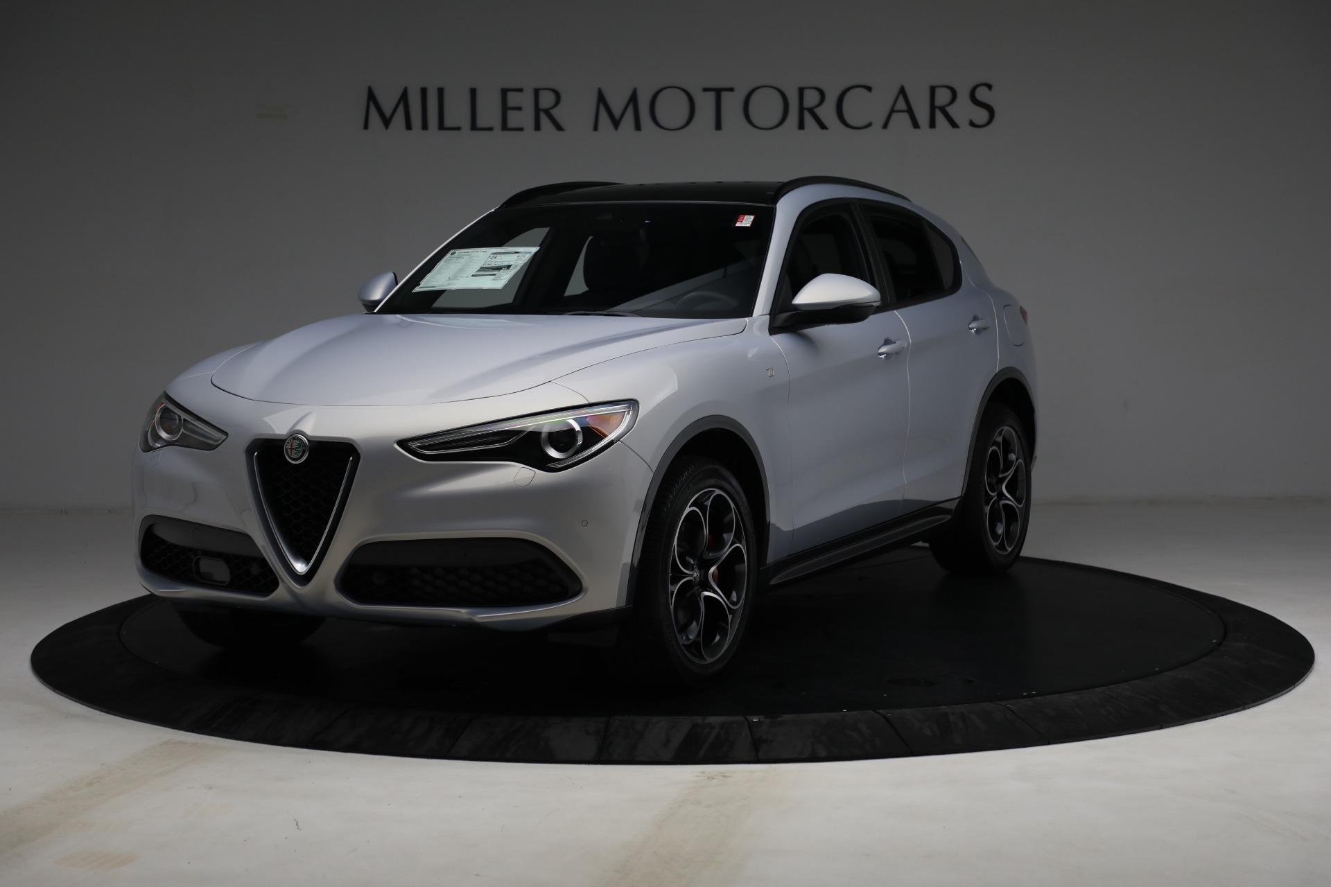 New 2022 Alfa Romeo Stelvio Ti for sale $55,805 at Maserati of Westport in Westport CT 06880 1