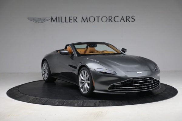 New 2021 Aston Martin Vantage Roadster for sale $174,586 at Maserati of Westport in Westport CT 06880 10
