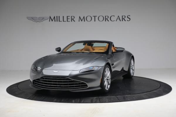 New 2021 Aston Martin Vantage Roadster for sale $174,586 at Maserati of Westport in Westport CT 06880 12