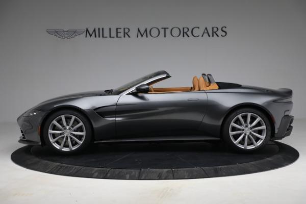 New 2021 Aston Martin Vantage Roadster for sale $174,586 at Maserati of Westport in Westport CT 06880 2