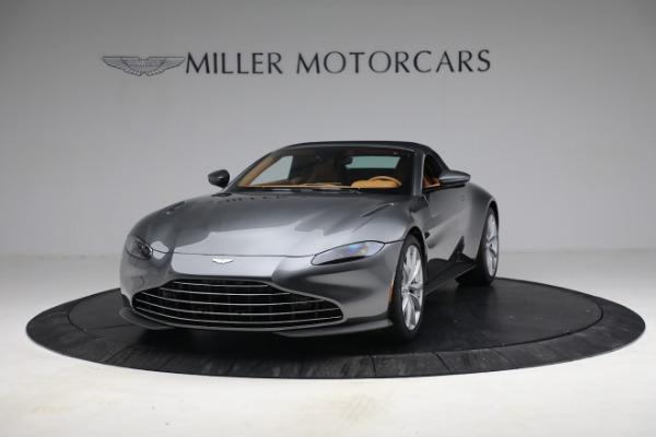 New 2021 Aston Martin Vantage Roadster for sale $174,586 at Maserati of Westport in Westport CT 06880 23